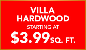 Villa Hardwood starting at $3.99 sq.ft. during the National Gold Tag Flooring Sale at Abbey Carpet & Floor in Puyallup.