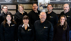 Meet the staff of Abbey Carpet & Floor.