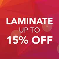 Save 15% on Laminate Flooring during our National Gold Tag Sale at Abbey Carpet & Floor of Puyallup, WA