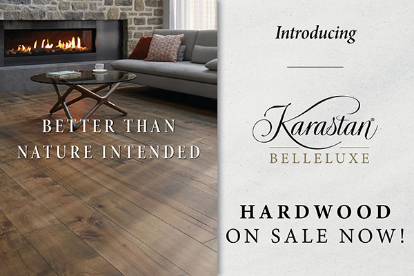 Karastan Belleluxe hardwood on sale now. Better than nature intended